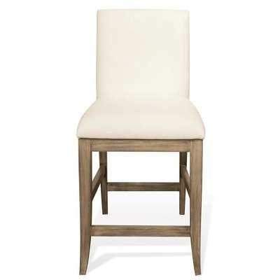 "Almazan Upholstery 24"" Bar Stool (Set of 2) - Wayfair"