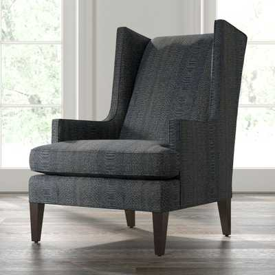 Luxe High Wing Back Chair - Crate and Barrel