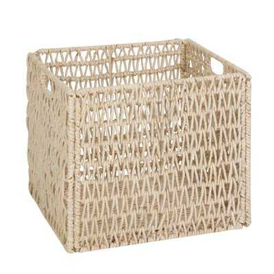 Storage Wicker Basket - Wayfair