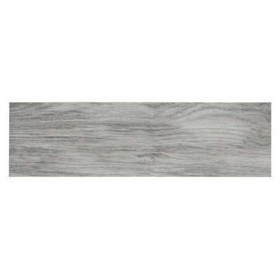 MONO SERRA Oak Grey 7 in. x 24 in. Porcelain Floor and Wall Tile (19.38 sq. ft. / case), Grey Matte - Home Depot