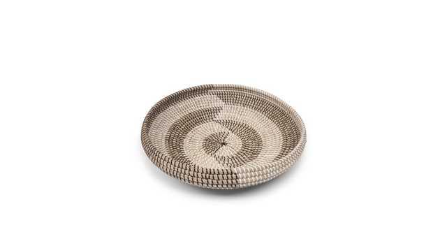 Helix Black White Herringbone Bowl - Article