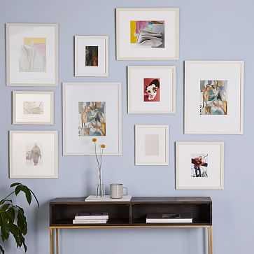 Gallery Frames, White, Set of 10 - West Elm