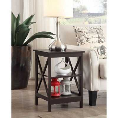Convenience Concepts Oxford Espresso End Table - 203085ES - eBay