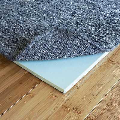 Symple Stuff Beulah Comfort Memory Foam Rug Pad: Rectangle 9' x 13' - eBay