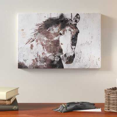'Gorgeous Horse' Print on Canvas - Wayfair