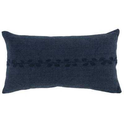 Blue Hill Cotton Lumbar Pillow - Wayfair