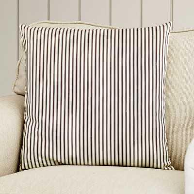 Lilah Stripes Cotton Throw Pillow - Wayfair