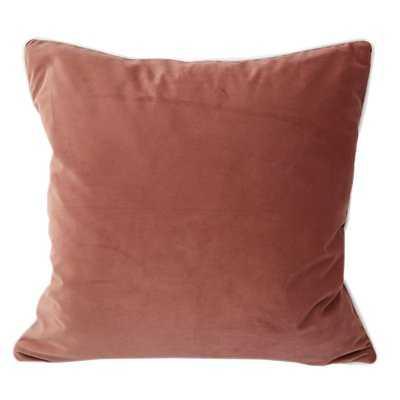 Norris Plush Velvet Pillow Cover - Wayfair