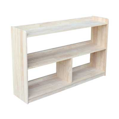 Abby 48 in. W Unfinished Bookcase - Home Depot