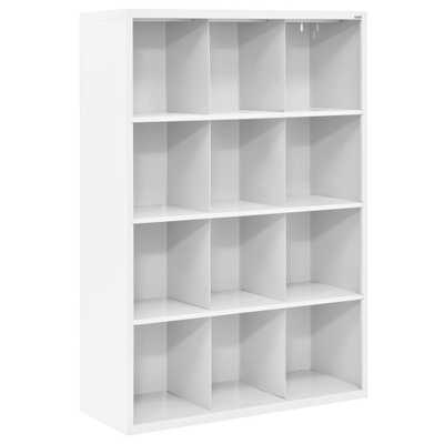 66 in. H x 46 in. W x 18 in. D White 12-Cube Cubby Organizer - Home Depot