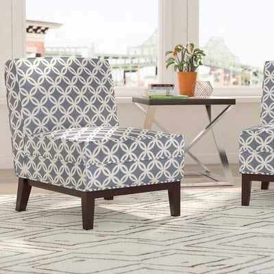 Mayberry Blue Slipper Chair - Wayfair