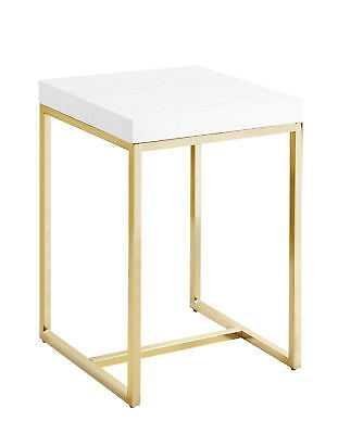 Mercer41 Heim End Table White - eBay