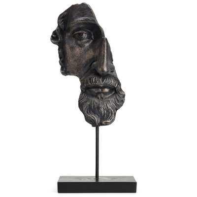 Fantastic Artistic Head Figurine - Wayfair