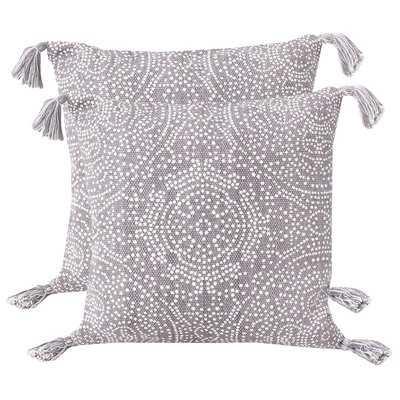 Riggs Reversible Dot Throw Pillow - Wayfair