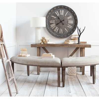 Bannoncourt Upholstered Bench - Wayfair