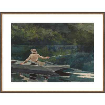 'Fly Fishing' Framed Print - Wayfair