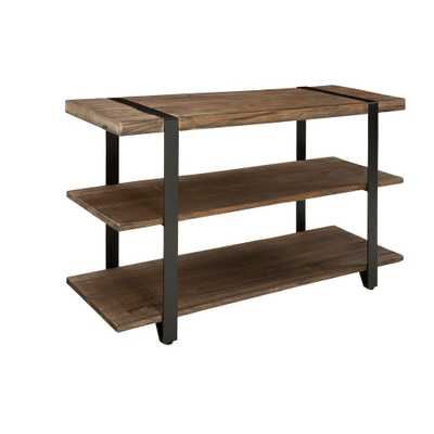 Modesto Rustic Natural Console Table, Rustic/Natural - Home Depot