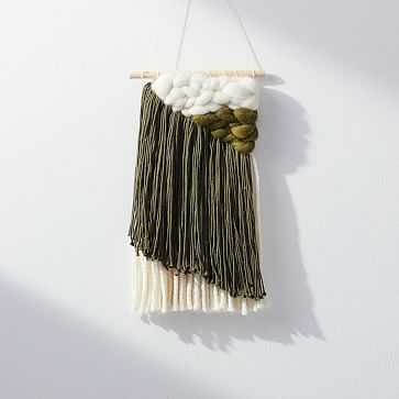 Sunwoven Wall Hanging, Small, Forest - West Elm