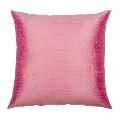Emmanuelle Dupion Silk Throw Pillow - Wayfair