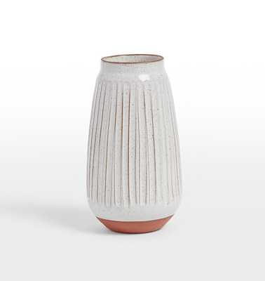 Whitney Small Carved Vase - Rejuvenation