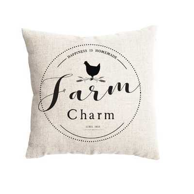 Blue Hill Farm Charm Farmhouse Pillow Cover - Wayfair