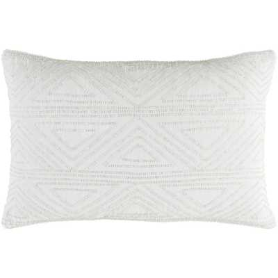 Elmas Poly Standard Pillow, White - Home Depot
