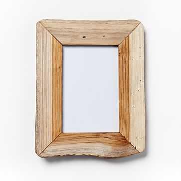 "Reclaimed Wood Frame, 4"" x 6"", - West Elm"