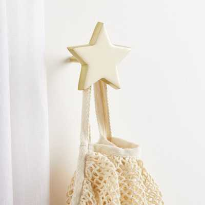 White Star Wall Hook - Crate and Barrel