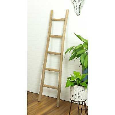 Union Rustic 5 ft Decorative Ladder: Walnut - eBay