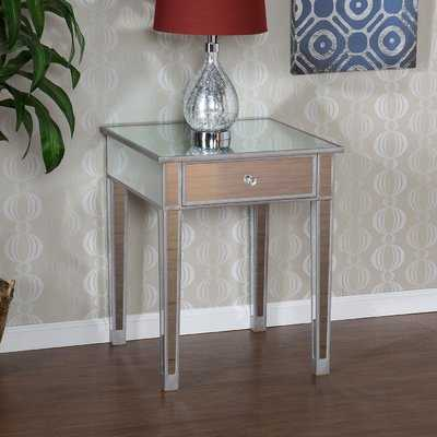 Kylie End Table With Storage - AllModern