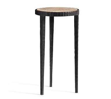 Grant Accent Table, Iron - Pottery Barn