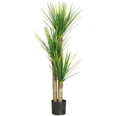 Silk Yucca Tree in Pot - Wayfair