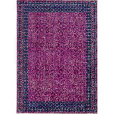 Arabi Oriental Pink/Blue Area Rug - Wayfair