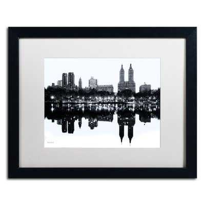 'Central Park West II' by David Ayash Framed Photographic Print- Black Frame - Wayfair