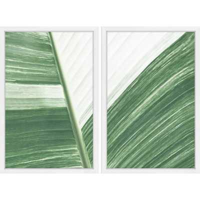 'Ventura Diptych' Framed Painting Print - Wayfair