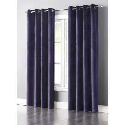 Slattery Solid Blackout Grommet Single Curtain Panel - AllModern