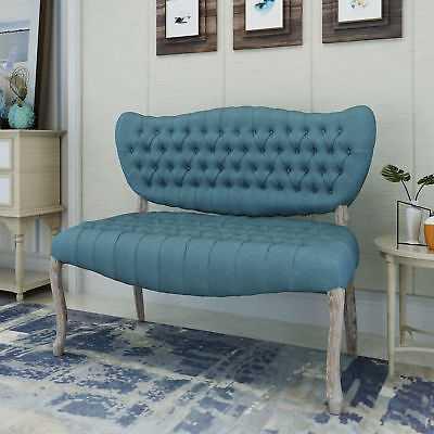 Ophelia & Co. Finch Loveseat: Blue - eBay