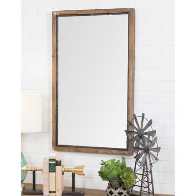 Verduzco Rustic Wood Wall Mirror - Wayfair