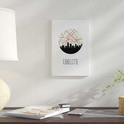 'Charlotte' Graphic Art Print on Canvas - Wayfair