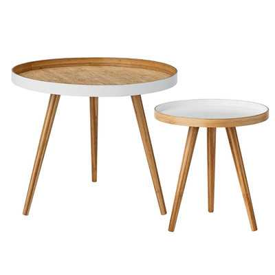Beveridge 2 Piece End Table Set - AllModern