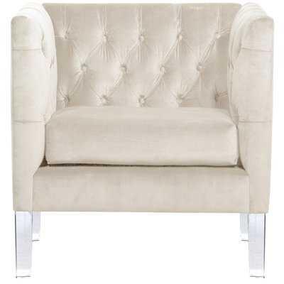 League Tufted Arm Chair - Wayfair