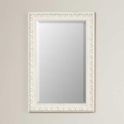 Arnett Distressed French Victorian Wall Mirror - Wayfair