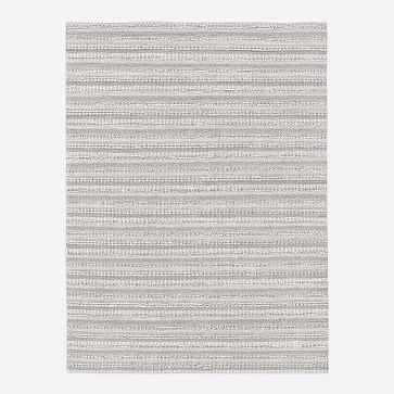 Stitched Mix Sweater Rug, Platinum, 8'x10' - West Elm