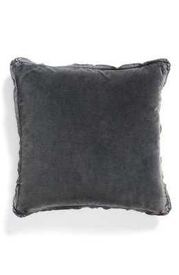 Treasure & Bond Stonewash Velvet Accent Pillow, Size One Size - Blue - Nordstrom