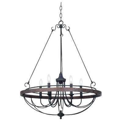 Beuvron 6-Light Candle-Style Chandelier - Wayfair