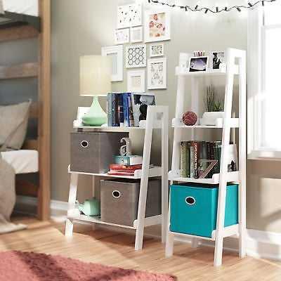 "Ebern Designs Ilovici 24"" W x 32.5"" H Bathroom Shelf: White - eBay"