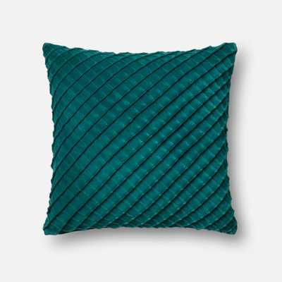 "PILLOWS - TEAL - 22"" X 22"" Cover Only - Loma Threads"