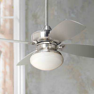 "36"" Modern Ceiling Fan with Light Pull Chain Brushed Nickel for Living Room - eBay"