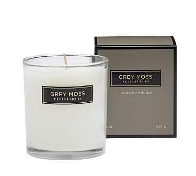Signature Homescent Candlepot - Grey Moss - Pottery Barn