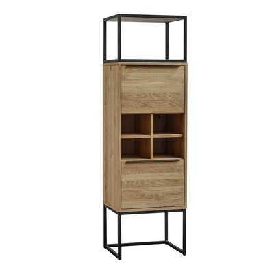 Rothman Tall Bar Cabinet - Wayfair